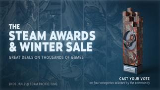 Steam大奖和年度热销游戏公布,GTA5、欧卡2表现最抢眼