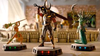 育碧的《魔法门:对决》上架Steam,像一个手办打架桌游