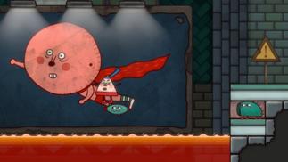 《小三角大英雄》:这是目前最朴实刚健的国产平台跳跃游戏了