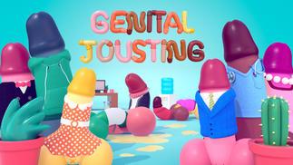 《Genital Jousting》:曾经他们做了壮汉动作游戏,现在他们做了壮汉某部件动作游戏
