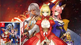 """《Fate/EXTELLA》""""年度版""""将于7月20日登陆任天堂Switch,买了PSV版的我……"""