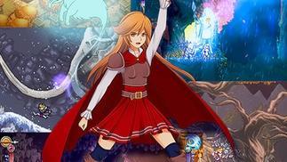 女孩说想成为骑士,她的父亲就为好斗的女儿制作了一款游戏