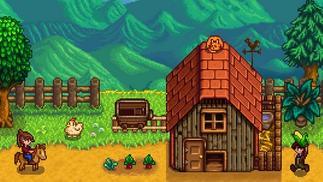 城市喧嚣让人厌倦,他买下了一座农场过上了星露谷般的生活