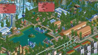 """这名玩家花了10年时间,在《过山车大亨2》中建造了一个""""超级乐园"""""""