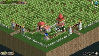 一名游客用263年走完了这个《过山车大亨2》中的迷宫