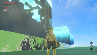 """国外玩家在《塞尔达传说:荒野之息》DLC中发现了一片""""神秘区域"""""""