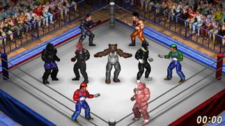 这款游戏让兽神莱卡和罗曼大帝来了一场美式摔跤