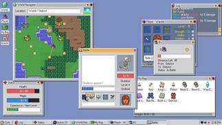 这个仿造Windows 98的操作系统,其实是一款五脏俱全的RPG