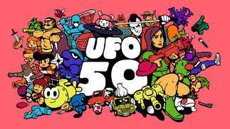 """五位独立游戏开发者联合开发""""五十合一""""UFO 50"""