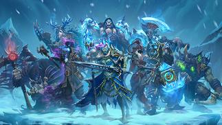 《炉石传说》最新拓展包《冰封王座的骑士》将于8月11日正式上线