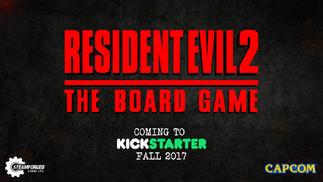 《黑暗之魂》桌游开发商即将推出《生化危机2》桌游版