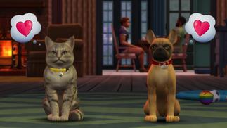 """《模拟人生4》""""猫与狗""""扩展包公布,首次加入自定义宠物服饰"""