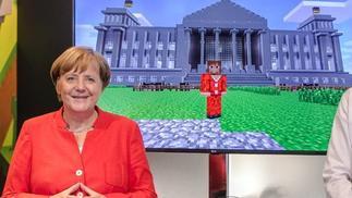 德国总理默克尔为科隆游戏展致辞:电子游戏是至关重要的文化资产