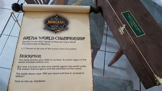 成为《魔兽世界》竞技场欧锦赛冠军后,他们得到了一份真正的任务卷轴