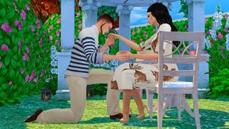 """最""""硬核""""的《模拟人生》玩家:遇到真爱,繁衍后代"""