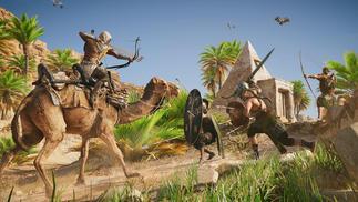 育碧为《刺客信条:起源》请了一只骆驼做动作捕捉,但这不是业界首次