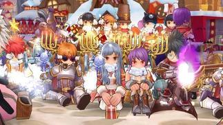 《仙境传说RO》即将开放姜饼城,还在魔都种下了一棵18米的圣诞树