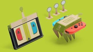 任天堂将推出Nintendo Labo套装,游戏主机新玩法