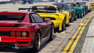《GTA Online》玩家的车友会