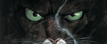 在玩到游戏之前,请先来看看《黑猫侦探》的漫画吧