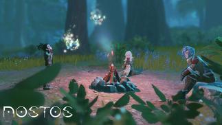 网易在科隆展出VR游戏《Nostos》,主打开放世界生存、建造和战斗