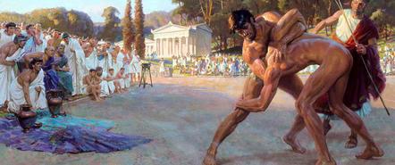 """体育竞赛也曾源自暴力,奥林匹克精神不是""""等待"""""""