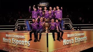 2018 CRL全球总决赛落幕,中国战队NOVA夺冠