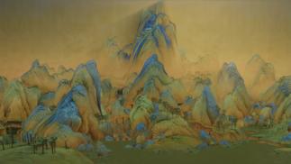 """用游戏""""复刻""""青绿山水:故宫和网易合作推出手游《绘真·妙笔千山》"""