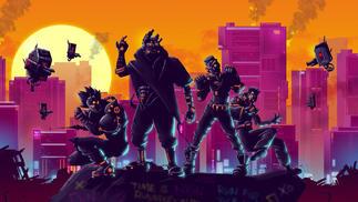 《黑色未来88》:霓虹、枪、杀戮,回到80年代爬塔