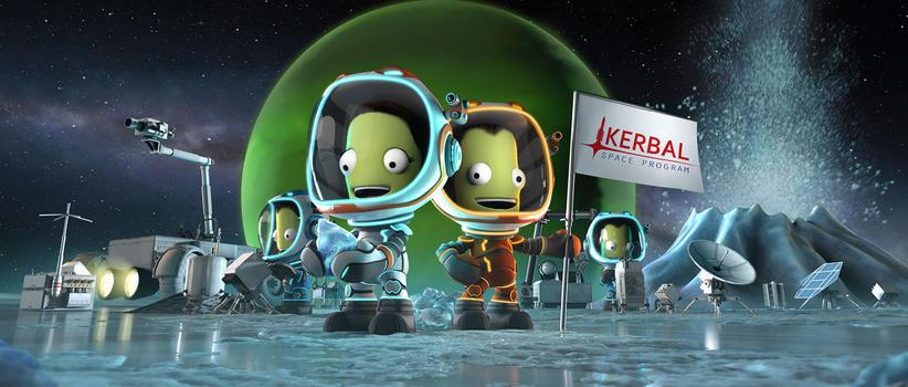 小绿人的奇妙冒险:坎巴拉太空计划首席航天员Jebediah Kerman回忆录