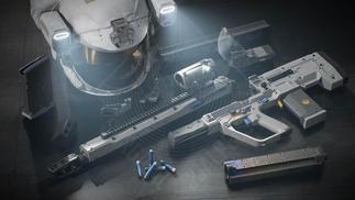 当战争蔓延到太空,人类还会使用枪械吗?