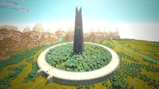 他们搬了10年砖,在《我的世界》里还原了托尔金的中土世界