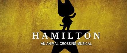 用8个月时间,玩家在《动森》里重现了百老汇音乐剧《汉密尔顿》
