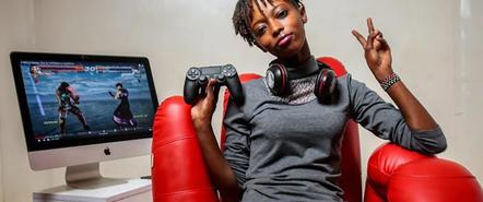 来自肯尼亚的《铁拳7》职业女玩家,在受到中伤后决定战斗下去