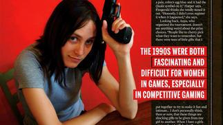 1997年,她们参加了第一届女子《雷神之锤》大赛