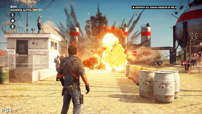 游戏里的爆炸场面是怎样制作的?