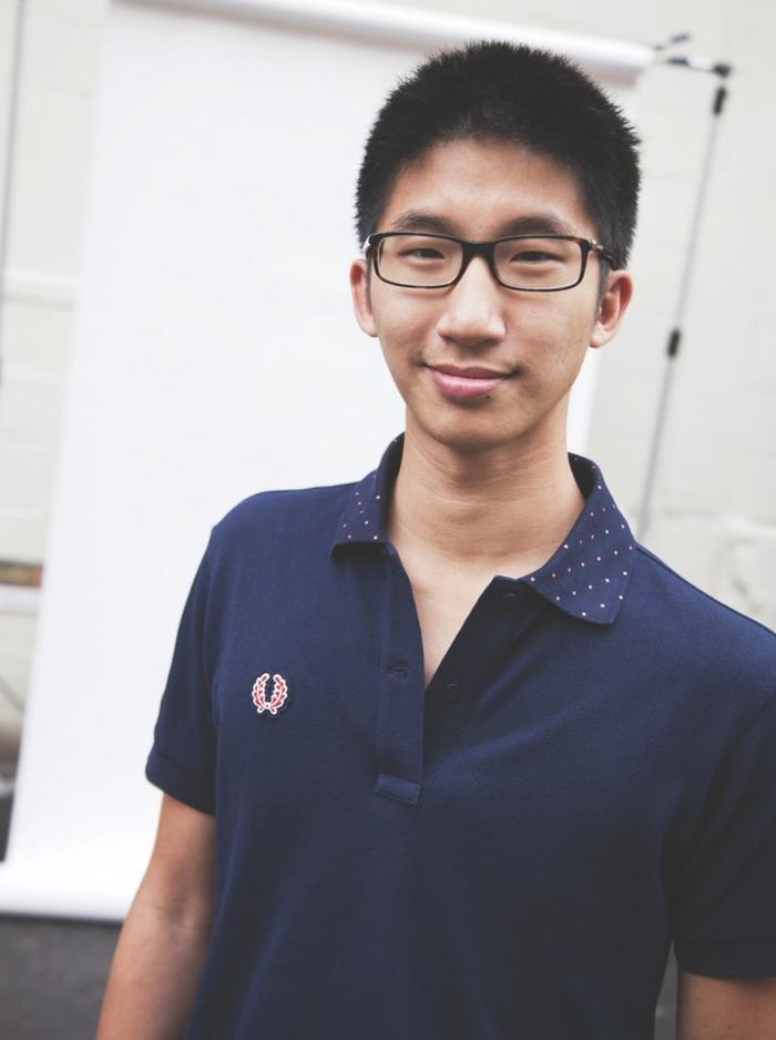 年轻的Brian Wong