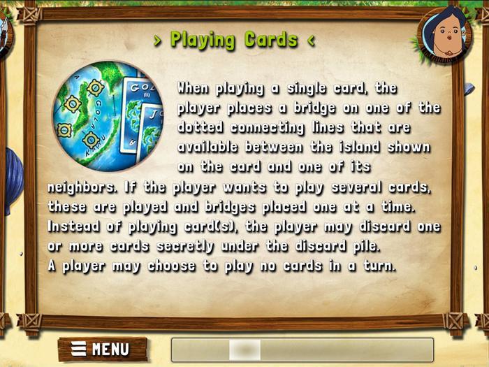 游戏说明的内容很多,但是欠缺互动表现