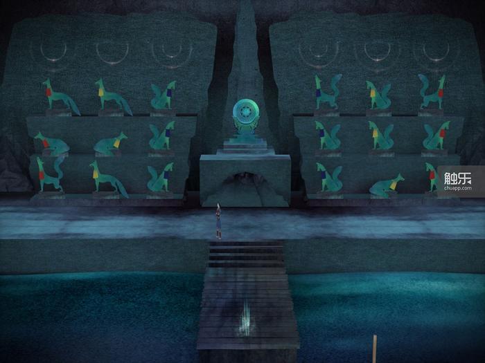 游戏的最终考验仅仅只是一个简单的对称谜题