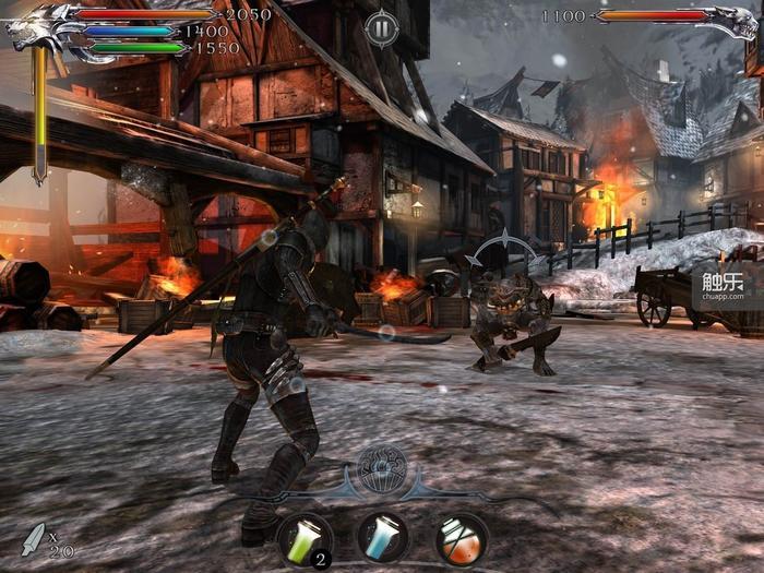 进入战斗后会切换到精美的3D场景,回合制战斗很有策略性,肉搏、魔法、药剂一样不缺