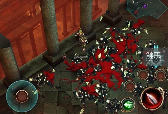 这游戏的血浆真的只是纸片