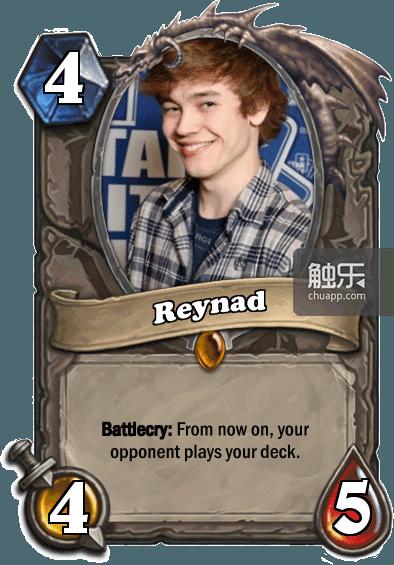 战吼:从现在开始,你的对手要开始用你的牌组打牌了