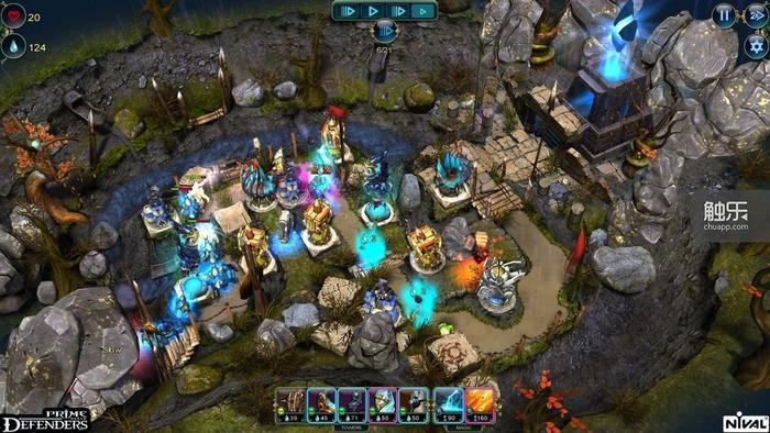 游戏的画面效果在塔防游戏中可以称为翘楚