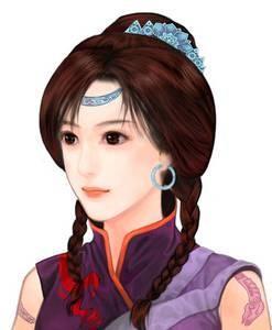 《仙剑三》中的紫萱