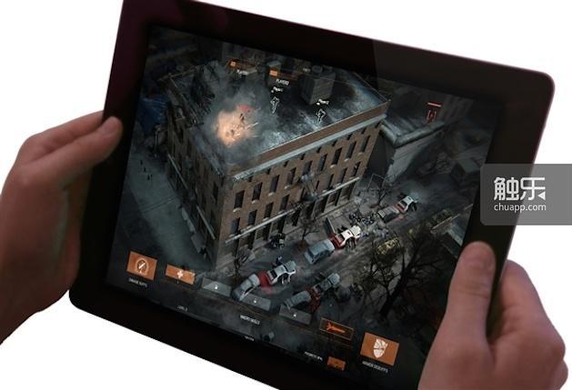 《汤姆·克兰西的巡回执法组》的辅助App提供了接入游戏的另一种方式