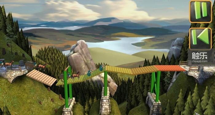 缺少支撑物将导致桥梁坍塌