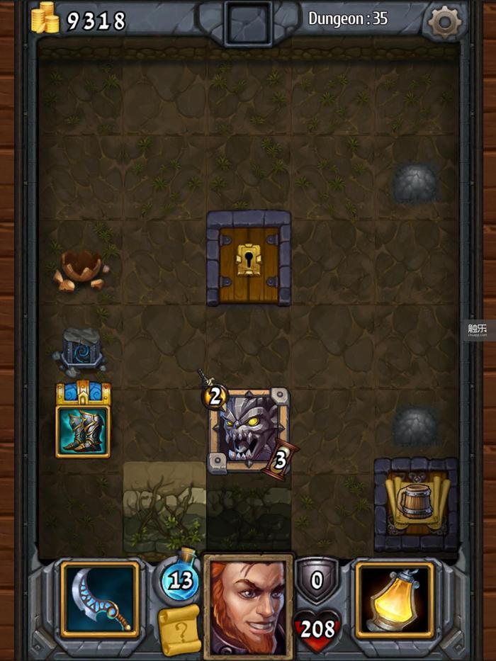 法师自带的Bug让游戏的难度变成了0:只要保持同屏只存在一个敌人,这个敌人的属性就会停留在2-3点
