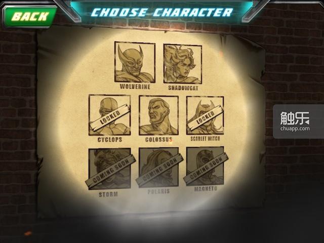 可选的人物很多,都在游戏的过程中陆续解锁
