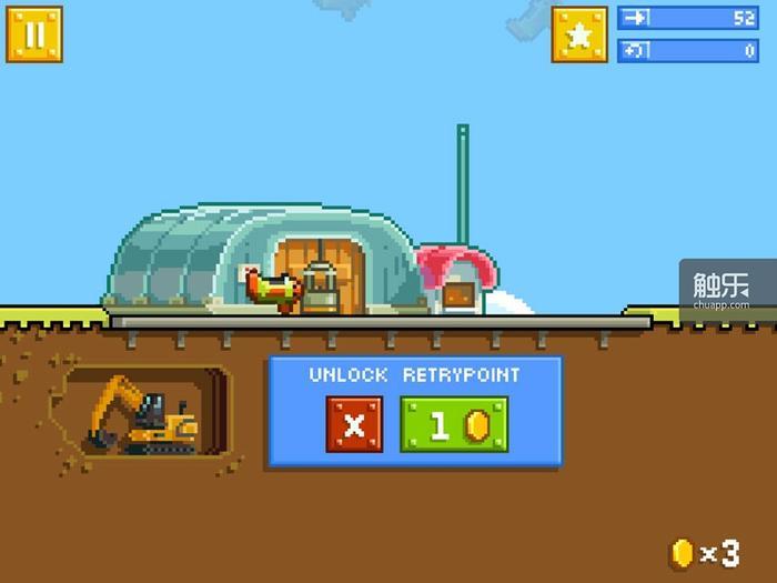 你也可以把《重试》当成一个卖Checkpoint的游戏