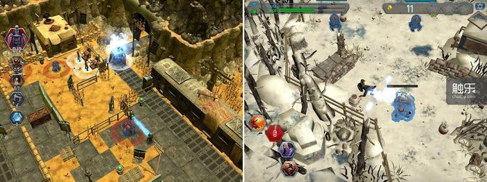 缩放画面即暂停游戏便于观察全局,但过于明亮的画面与末世风格略有不符